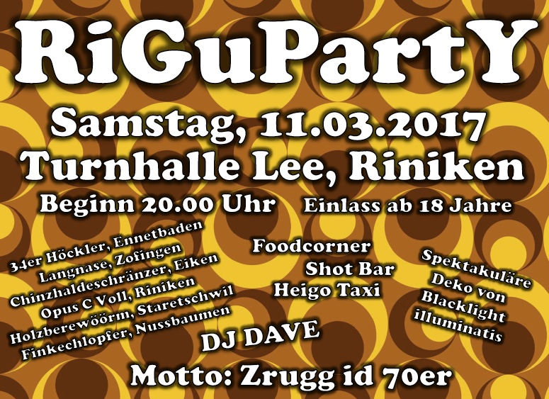RiGuPartY 2017